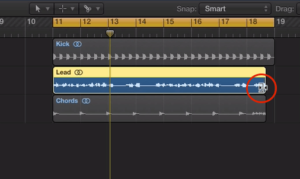 Stretching a sample in Logic Pro X